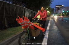 Cargo Bike rider moving big things